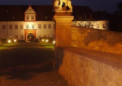 Schloss Schönborn mit Parkanlage, Simulation