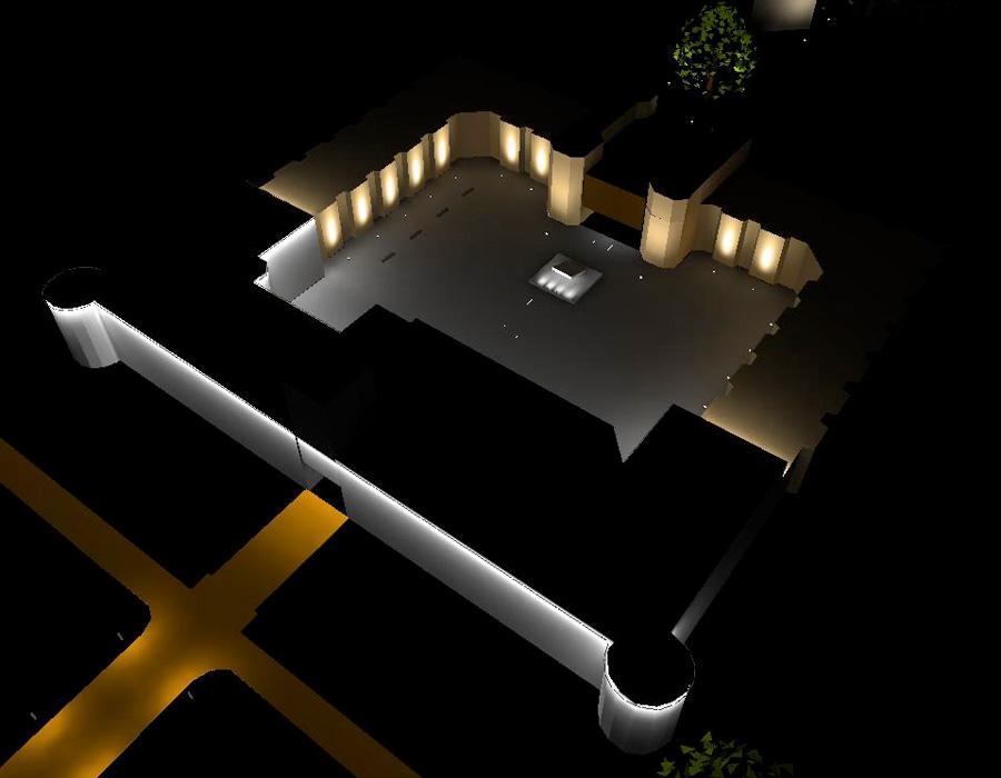 Lichtdesign Schloss Schönborn