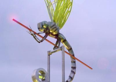 Skulptur Libelle
