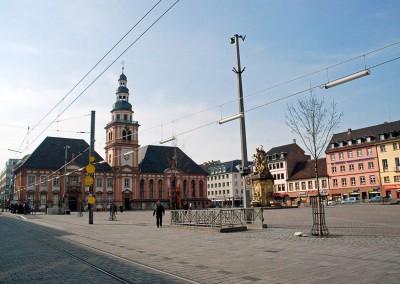 Beleuchtung Marktplatz G1, Mannheim