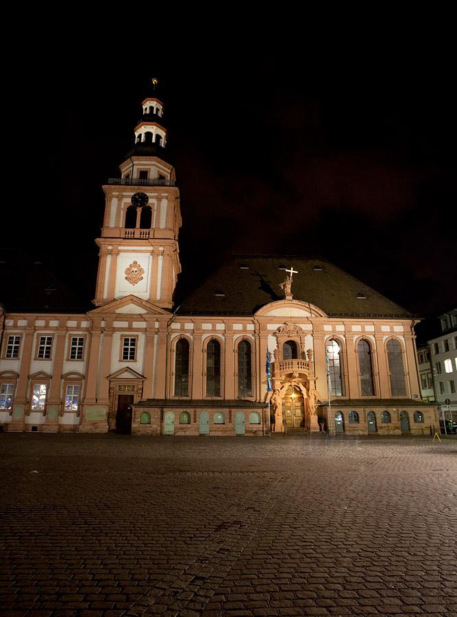 Beleuchtung marktplatz g1 mannheim architektur licht - Architektur mannheim ...