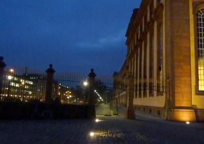 Schloss Mannheim, Außenanlage Ostflügel