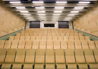 Vorlesungssaal an der Fachhochschule für Technik, Mannheim
