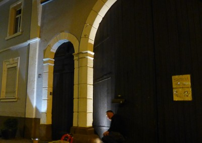 Beleuchtungsprobe vor Ort